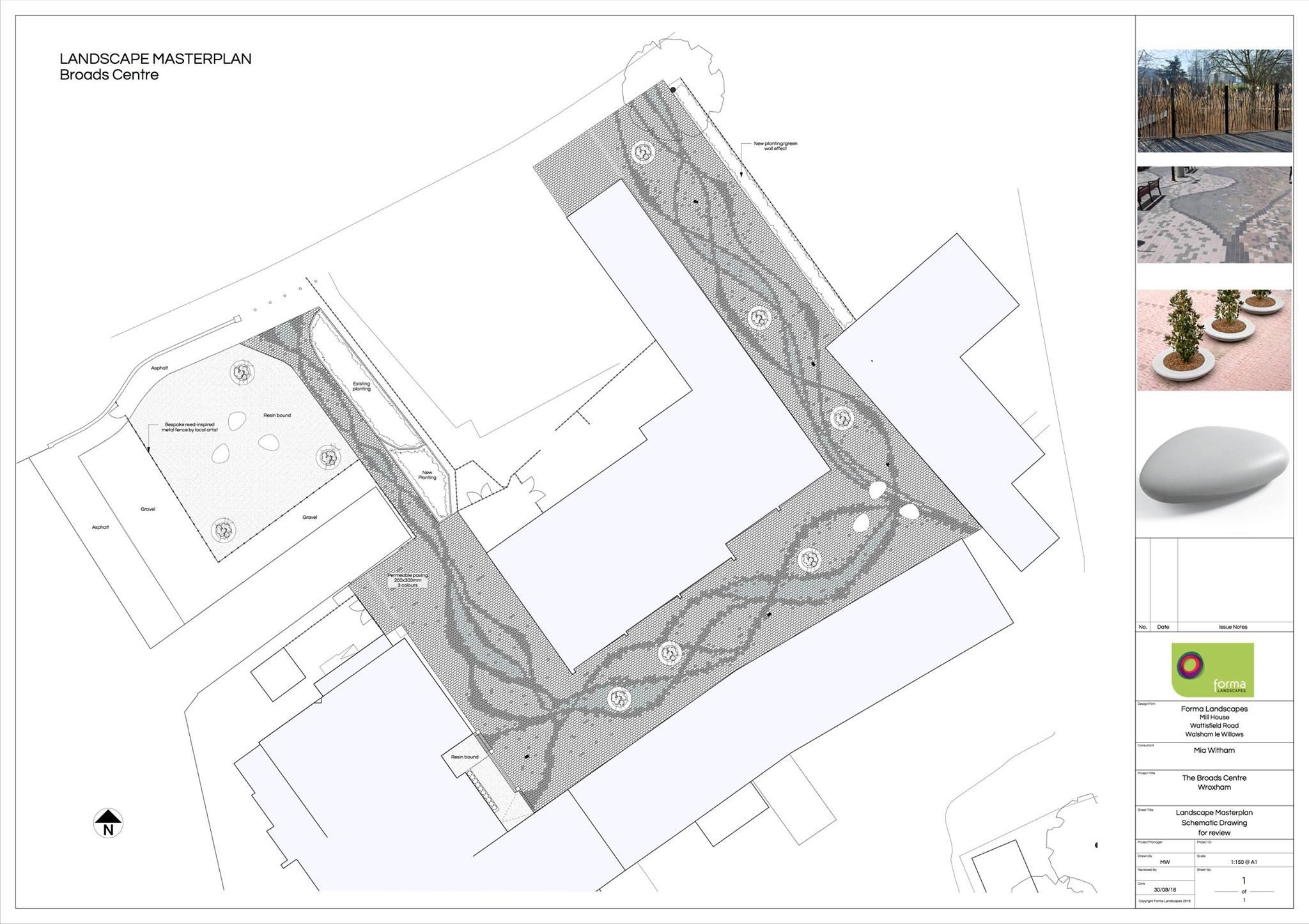 Broads Centre Draft Plans